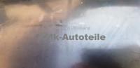 Edelstahl Nachschalldämpfer AUDI 100 GL C1  Bj 1971 - 73